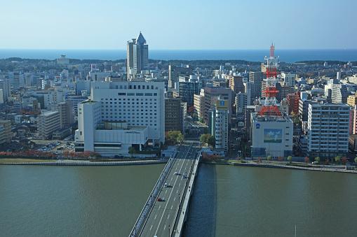 Japan「Japan, Niigata Prefecture, Niigata City」:スマホ壁紙(14)