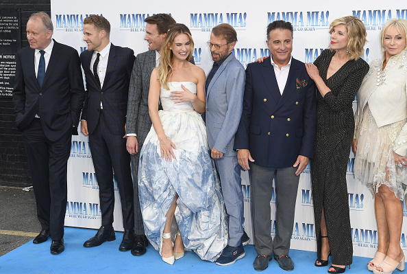 Bjorn Ulvaeus「Mamma Mia! Here We Go Again World Premiere」:写真・画像(5)[壁紙.com]