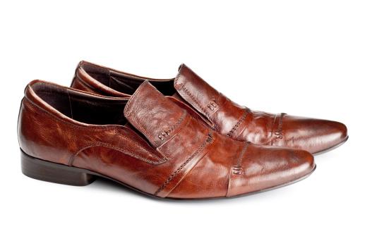 Loafer「brown shoes pair」:スマホ壁紙(17)