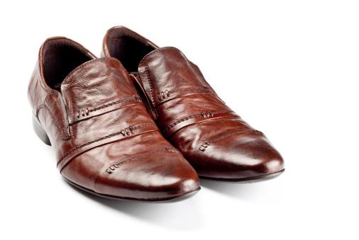 Loafer「brown shoes pair」:スマホ壁紙(9)