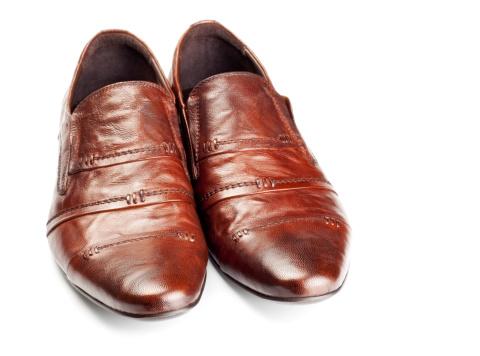Loafer「brown shoes pair」:スマホ壁紙(7)