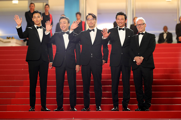 """Lee Min「""""The Spy Gone North (Gongjak)"""" Red Carpet Arrivals - The 71st Annual Cannes Film Festival」:写真・画像(17)[壁紙.com]"""