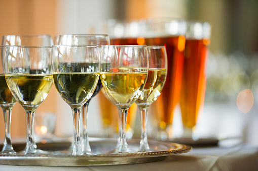 盆「ワイン、ビール」:スマホ壁紙(13)
