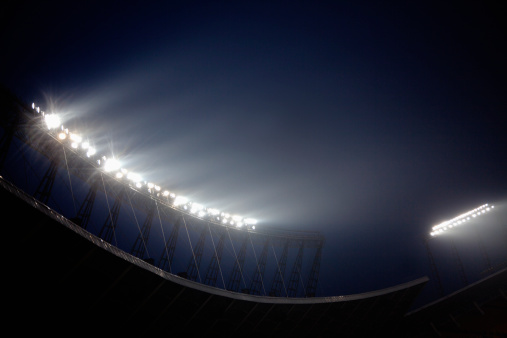 Floodlight「Stadium floodlights at night time, Beijing, China」:スマホ壁紙(3)