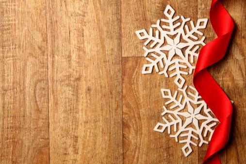 雪の結晶「冬の季節の背景」:スマホ壁紙(2)