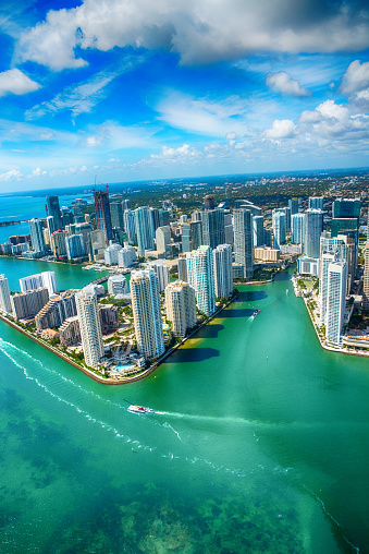 Miami「Downtown Miami From Over Biscayne Bay」:スマホ壁紙(9)