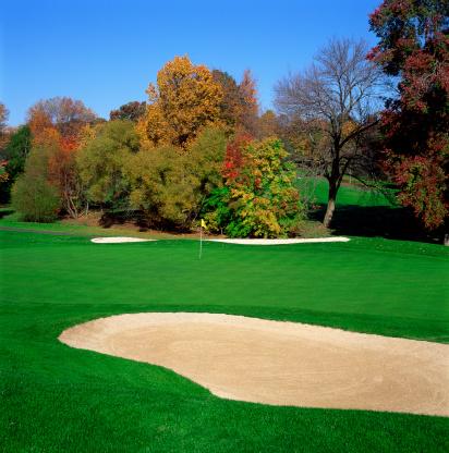 Sand Trap「Sand trap on golf course」:スマホ壁紙(14)