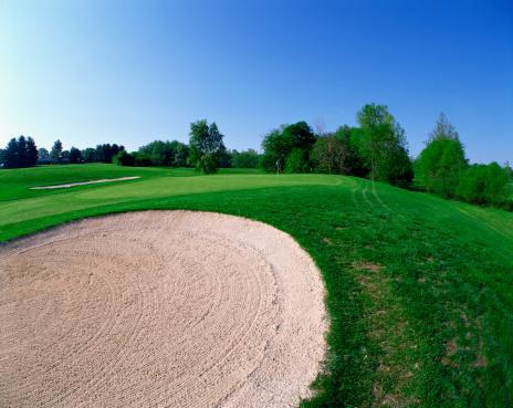 Sand Trap「Sand trap on golf course」:スマホ壁紙(17)