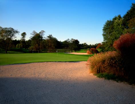 Sand Trap「Sand trap on golf course」:スマホ壁紙(18)