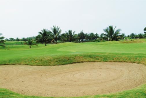 Sand Trap「Sand trap on golf course」:スマホ壁紙(1)
