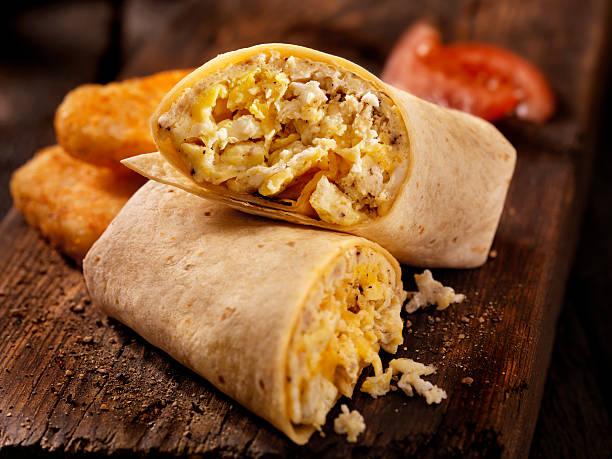 Scrambled Egg and Cheese Breakfast Wrap:スマホ壁紙(壁紙.com)