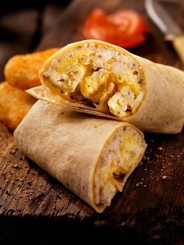 Tortilla - Flatbread「Scrambled Egg and Cheese Breakfast Wrap」:スマホ壁紙(0)