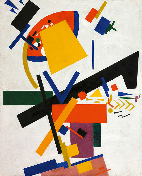 Painting - Activity「Suprematism 1915」:写真・画像(5)[壁紙.com]