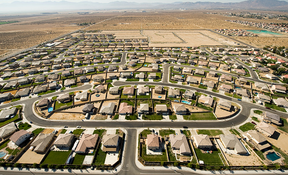 Residential District「Planned Desert Community In lancaster California, USA」:写真・画像(17)[壁紙.com]