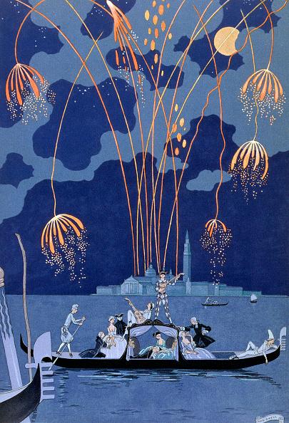 アールデコ「Fireworks In Venice' 1924」:写真・画像(17)[壁紙.com]