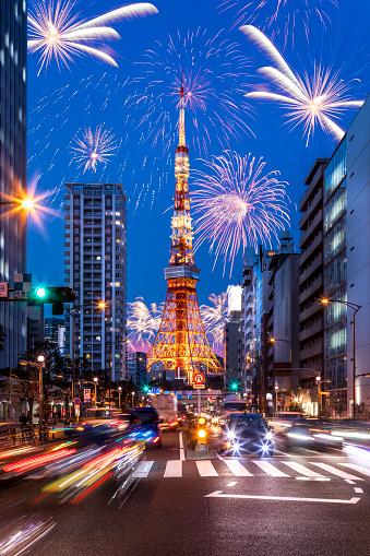 花火「東京の花火」:スマホ壁紙(13)