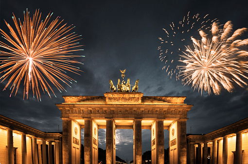 New Year「fireworks in germany for the new year」:スマホ壁紙(7)