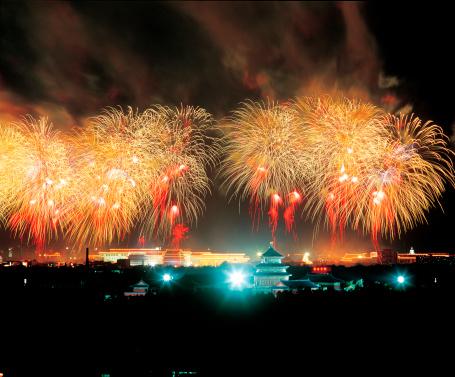 Beijing「Fireworks In Tiananmen Square,Beijing」:スマホ壁紙(14)