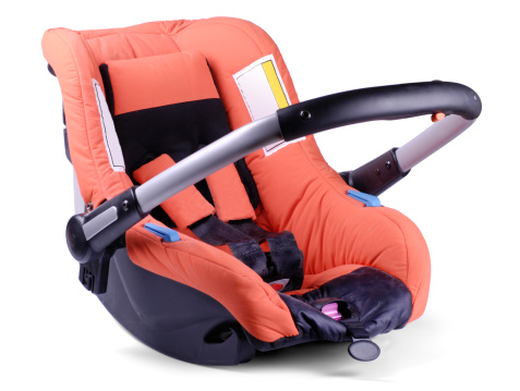 Adjustable「Baby car and travel seat on white background」:スマホ壁紙(13)