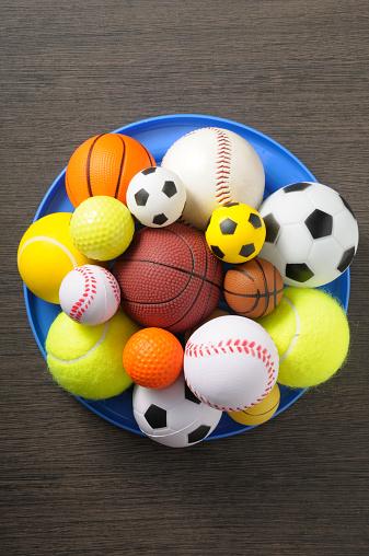 スポーツ用品「balls」:スマホ壁紙(2)