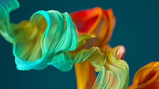 HD Format「Abstract wavy object」:スマホ壁紙(13)