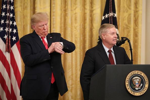 East Room「President Trump Delivers Remarks On Federal Judicial Confirmation Milestones」:写真・画像(5)[壁紙.com]