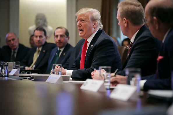 Conference - Event「President Trump holds Cabinet Meeting At The White House」:写真・画像(16)[壁紙.com]