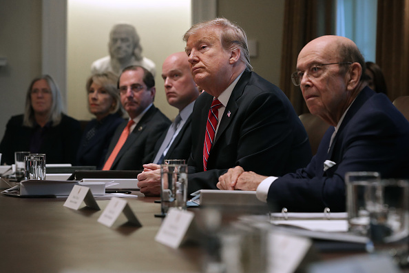 Wilbur Ross「President Trump Holds A Cabinet Meeting At The White House」:写真・画像(15)[壁紙.com]