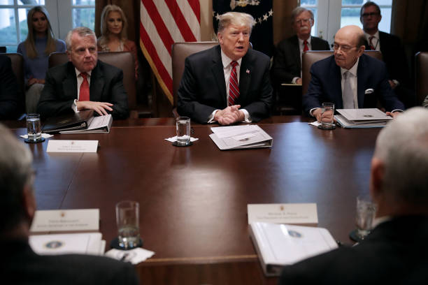 President Trump Holds A Cabinet Meeting At The White House:ニュース(壁紙.com)