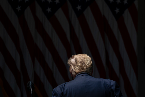 Rear View「President Trump Makes Statement On Vaccine Development」:写真・画像(9)[壁紙.com]
