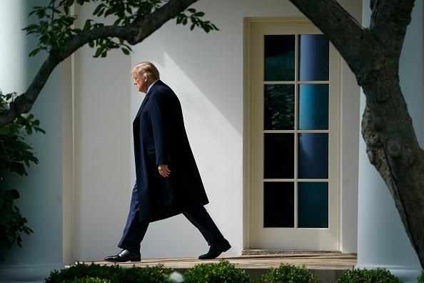 Leaving「President Trump Departs White House For New Jersey」:写真・画像(0)[壁紙.com]