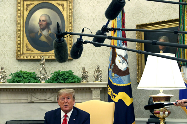 Direction「President Donald Trump Welcomes The Crown Prince Of Bahrain To The White House」:写真・画像(16)[壁紙.com]