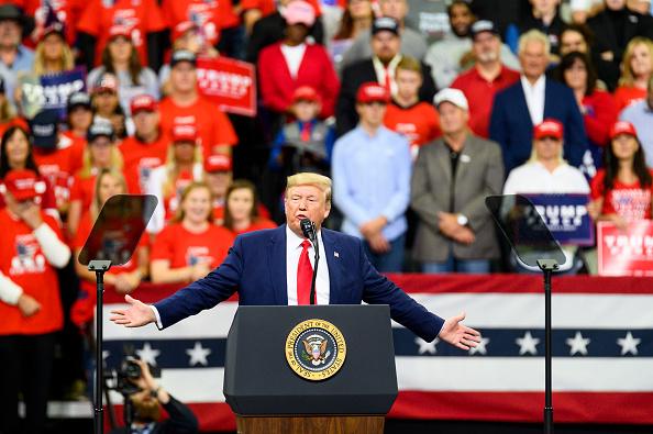 Minnesota「President Trump Holds Campaign Rally In Minneapolis」:写真・画像(16)[壁紙.com]