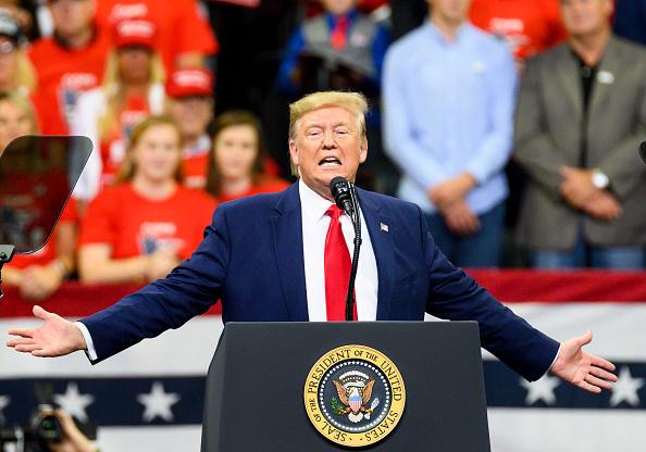 Minnesota「President Trump Holds Campaign Rally In Minneapolis」:写真・画像(9)[壁紙.com]