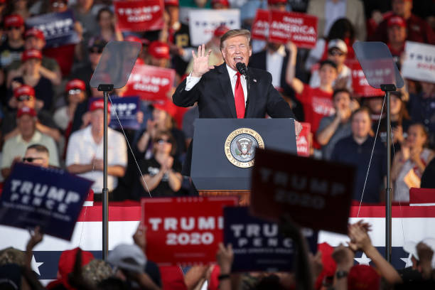 """Donald Trump Holds """"MAGA"""" Rally In Central Pennsylvania:ニュース(壁紙.com)"""