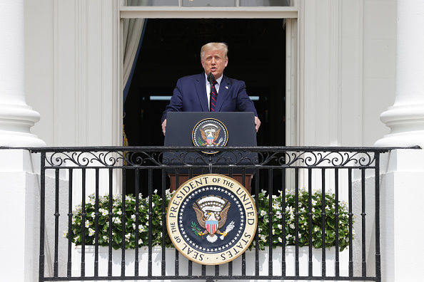 Persian Gulf Countries「President Trump Hosts Abraham Accords Signing Ceremony On White House South Lawn」:写真・画像(9)[壁紙.com]