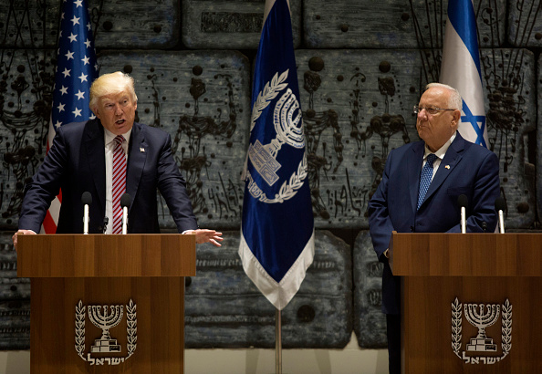Finance and Economy「US President Donald Trump Meets Israeli President Reuven Rivlin」:写真・画像(4)[壁紙.com]