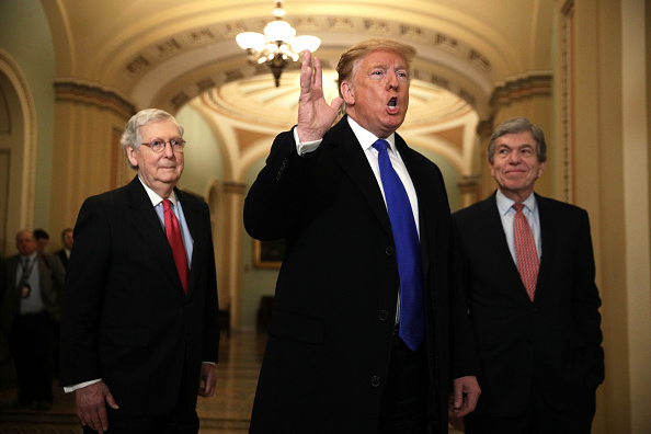トップランキング「President Donald Trump Joins Senate Republicans For Their Weekly Policy Luncheon」:写真・画像(0)[壁紙.com]