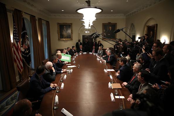 Politics「President Trump Discusses Partial Government Shutdown In Cabinet Room」:写真・画像(8)[壁紙.com]