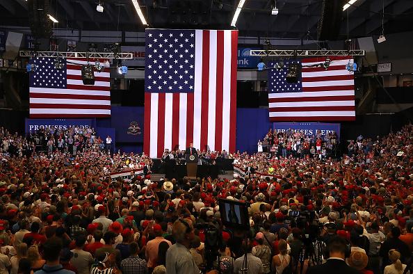 MAGA「President Trump Holds Rally In Fargo, North Dakota」:写真・画像(17)[壁紙.com]