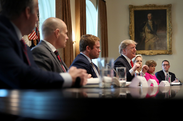 Meeting「President Trump Holds Meeting On Combating Human Trafficking On Southern Border」:写真・画像(6)[壁紙.com]