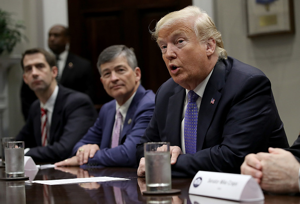 Economy「President Trump Holds A Roundtable on Foreign Investment」:写真・画像(8)[壁紙.com]