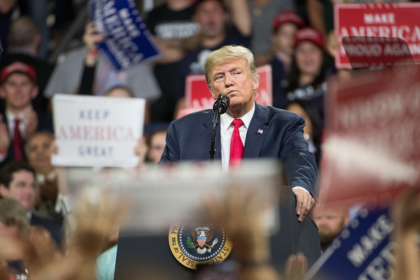 MAGA「Donald Trump Holds MAGA Rally In Johnson City, Tennesee」:写真・画像(7)[壁紙.com]
