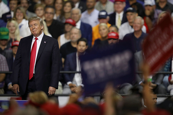"Tampa「Donald Trump Holds ""Make America Great Again"" Rally In Tampa」:写真・画像(12)[壁紙.com]"