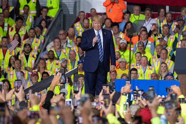 Employment And Labor「President Trump Visits Shell Pennsylvania Petrochemicals Complex」:写真・画像(16)[壁紙.com]
