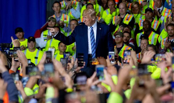Occupation「President Trump Visits Shell Pennsylvania Petrochemicals Complex」:写真・画像(8)[壁紙.com]