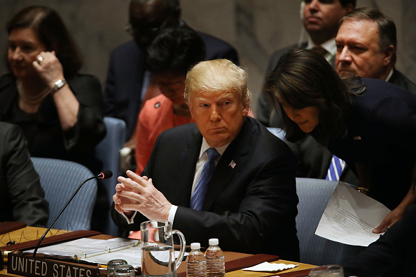 Strategy「President Donald Trump Chairs UN Security Council Meeting On Iran」:写真・画像(6)[壁紙.com]