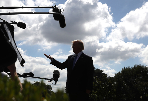 The Media「President Trump Departs White House En Route To Indianapolis」:写真・画像(19)[壁紙.com]