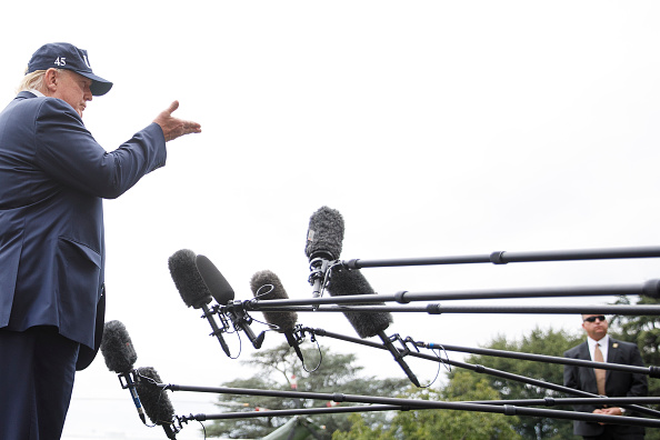 South Lawn「President Donald Trump Returns To Washington From Camp David」:写真・画像(8)[壁紙.com]