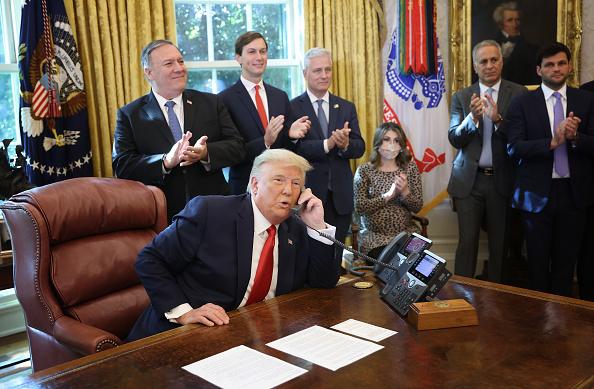 Agreement「President Trump Announces U.S. Brokered Sudan Israel Peace Agreement」:写真・画像(19)[壁紙.com]